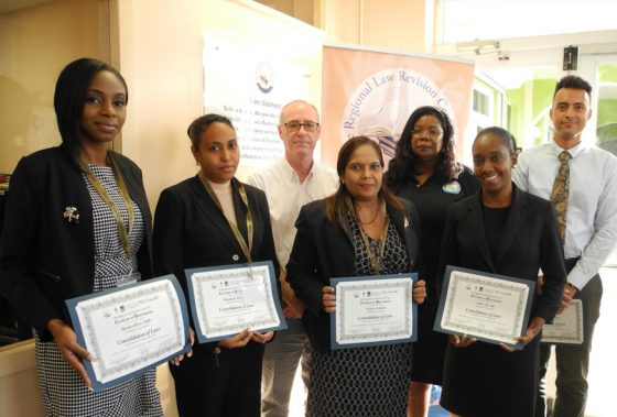 Guyana and T&T; attend Consolidation of Laws